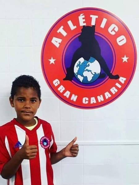 O jogador, Dilan Santos Ruiz, morreu atropelado quando voltava de treino - Reprodução/Twitter
