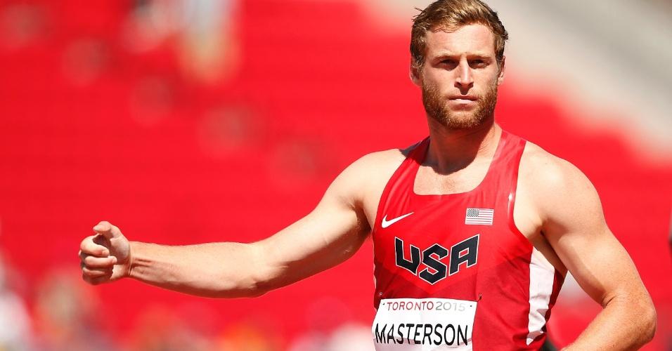 Derek Masterson, norte-americano do atletismo