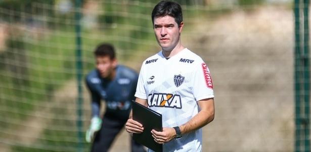 Diogo Giacomini deixa a comissão técnica fixa do profissional e volta para a base do Atlético-MG - Bruno Cantini/Atlético-MG