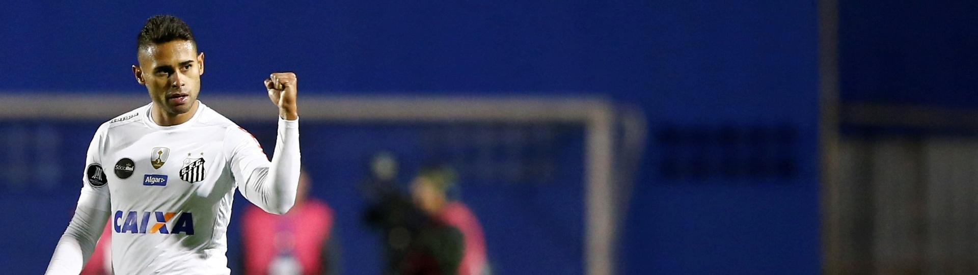 Kayke empatou para o Santos na Vila Capanema