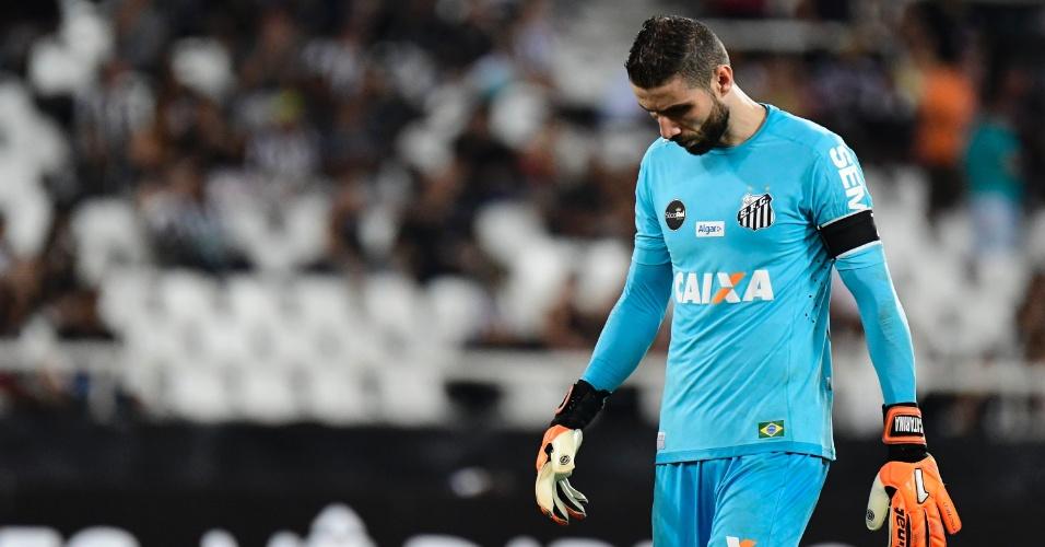 Vanderlei lamenta gol sofrido pelo Santos contra o Botafogo