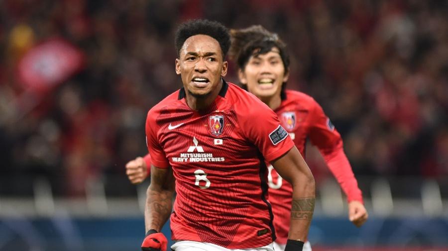 Atacante Rafael Silva fez o gol do título do Urawa Red na Liga dos Campeões da Ásia - AFP PHOTO / Kazuhiro NOGI