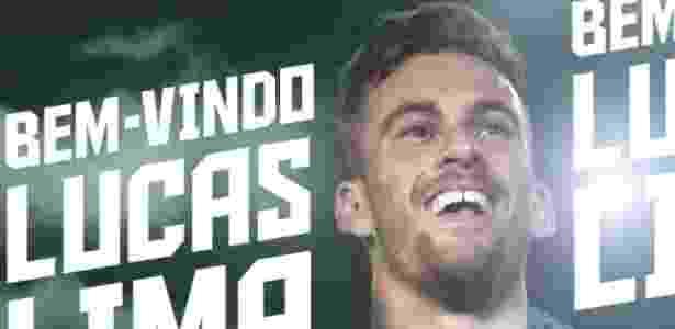 Palmeiras anuncia acerto com Lucas Lima - Reprodução/Twitter - Reprodução/Twitter