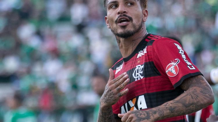 Guerrero durante sua passagem pelo Flamengo - Liamara Polli/AGIF