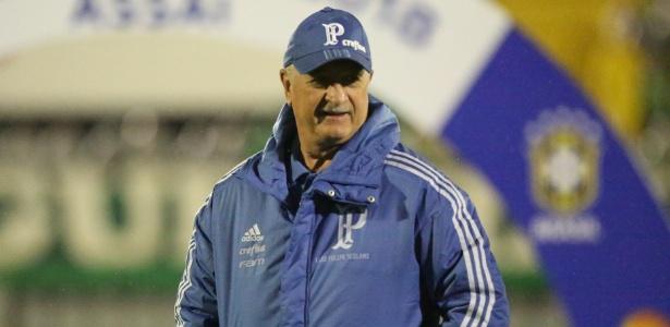 Felipão comandou atividade do Palmeiras na Academia de Futebol - Sirli Freitas/ACF