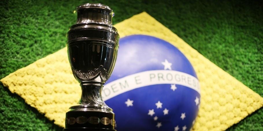 Troféu da Copa América está em exibição no Museu da Seleção Brasileira