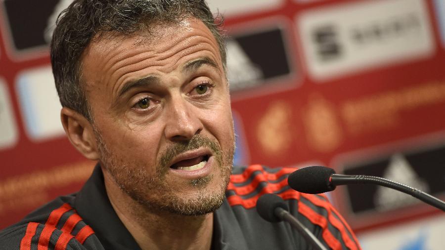 Ex-técnico do Barcelona, Luis Enrique treinou a seleção da Espanha por quase um ano antes de renunciar por problemas pessoais - JOSE JORDAN / AFP