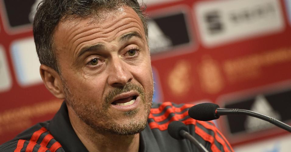 Luis Enrique, treinador da seleção espanhola
