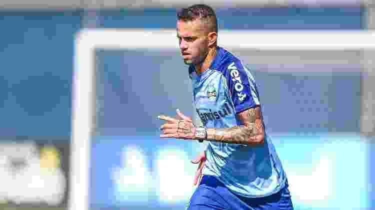 Luan não conseguiu ter regularidade neste ano e Grêmio culpa problemas físicos - Lucas Uebel/Grêmio FBPA