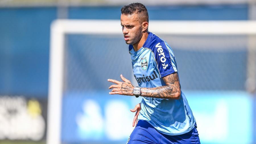 Celso Rigo detém parte dos direitos econômicos de Luan (foto) e Everton em herança de acordos pré-2015 - Lucas Uebel/Grêmio FBPA