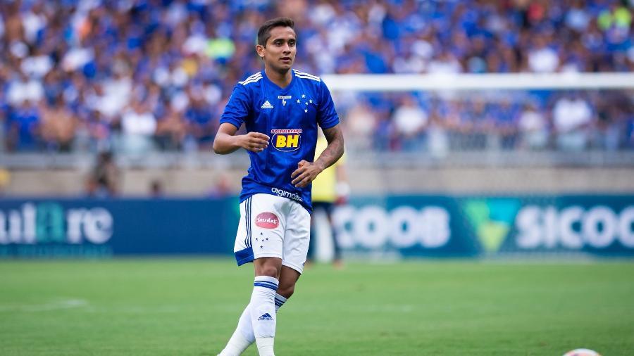 Everton Felipe, em atuação pelo Cruzeiro - Bruno Haddad/Cruzeiro