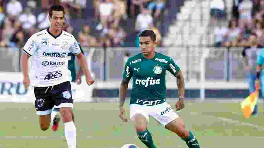 Dudu em ação pelo Palmeiras contra a Inter de Limeira - Thiago Calil/AGIF