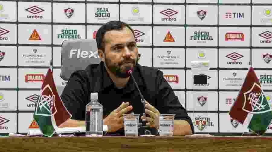 Mário Bittencourt, presidente do Fluminense - Lucas Mercon/Fluminense FC