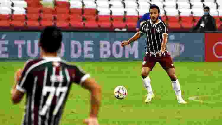 Yago ainda não se encontrou na trinca de volantes de Odair Hellmann - Mailson Santana/Fluminense FC - Mailson Santana/Fluminense FC