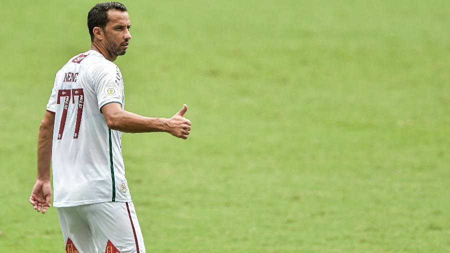 Nenê teve lesão na coxa diagnosticada - Thiago Ribeiro/AGIF
