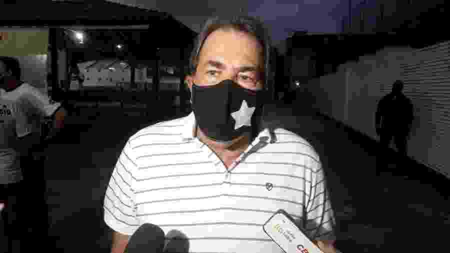 """Ex-presidente do Botafogo, Carlos Augusto Montenegro diz que, sem S/A, Botafogo é """"ingovernável"""" - Alexandre Araújo/Colaboração para o UOL"""