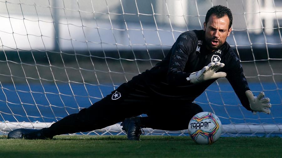 Diego Cavalieri, goleiro do Botafogo - Vitor Silva/Botafogo