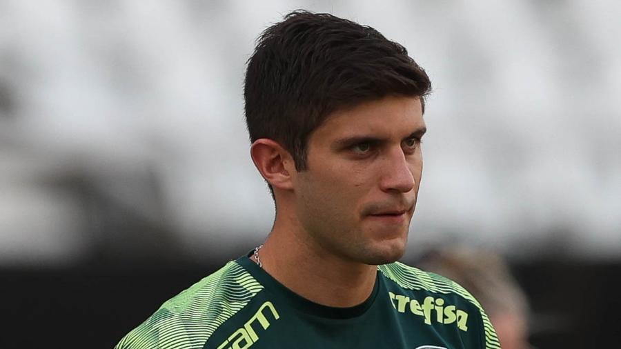 Kuscevic, zagueiro do Palmeiras, foi revelado pela Universidad Católica - Cesar Greco/ Palmeiras