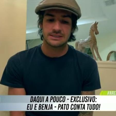 Alexandre Pato diz que aceitaria voltar ao Corinthians - Reprodução/SBT