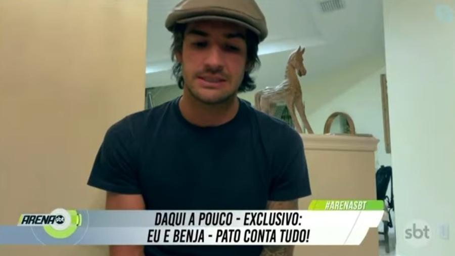 Alexandre Pato diz que quase acertou com o Flamengo - Reprodução/SBT