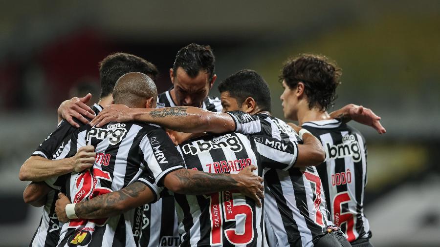 Galo mostrou força no mês de julho, já que em nove jogos venceu sete e empatou apenas dois - Pedro Souza/Atlético-MG