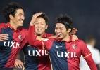 Autor de gols contra o Real, Shibasaki já admitiu pressão de legado de Zico - Kazuhiro Nogi/AFP