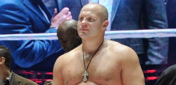 Fedor Emelianenko é ex-campeão peso-pesado do Pride - AFP / RIA NOVOSTI