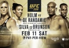 Com Anderson Silva, Ultimate divulga vídeo promocional do UFC 208; assista