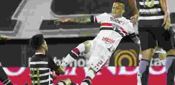 Bruno durante partida contra o Corinthians, no início deste ano - Daniel Augusto Jr./Agência Corinthians