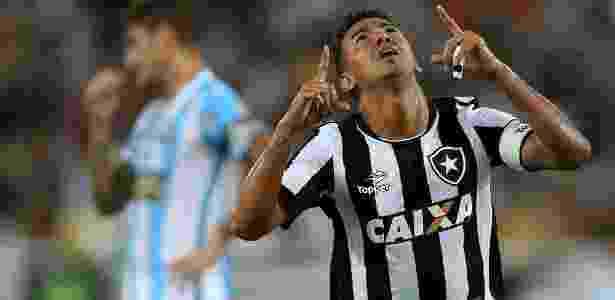 Rodrigo Lindoso comemora gol do Botafogo sobre o Macaé - Divulgação/Botafogo - Divulgação/Botafogo
