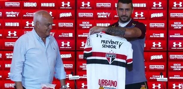 Pratto deve estrear pelo São Paulo neste sábado