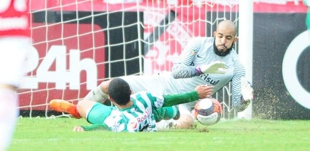Danilo Fernandes ainda tem um mês de recuperação de uma fratura no pé esquerdo