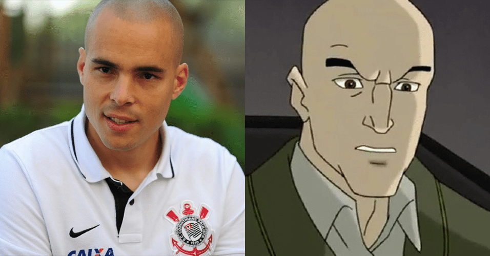 "JULIO CESAR - Professor Xavier, de ""X-Men"""