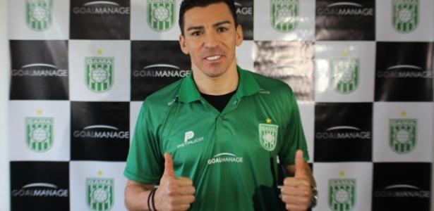 Lúcio foi apresentado no Gama em dezembro do ano passado
