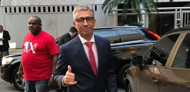 Alexandre Campelo, próximo presidente do Vasco, antes de ser empossado