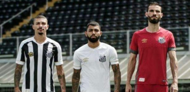 cf5d1fb170549 Loja oficial do Santos vaza nova camisa antes de evento e irrita diretoria