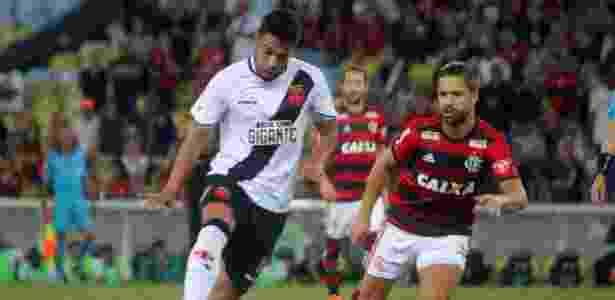 Andrés Rios fez oito gols em 33 jogos pelo Vasco nesta temporada - Paulo Fernandes/Vasco.com.br