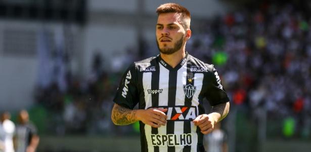 Nathan, meia-atacante do Atlético-MG, ainda não atuou sob a batuta de Levir Culpi