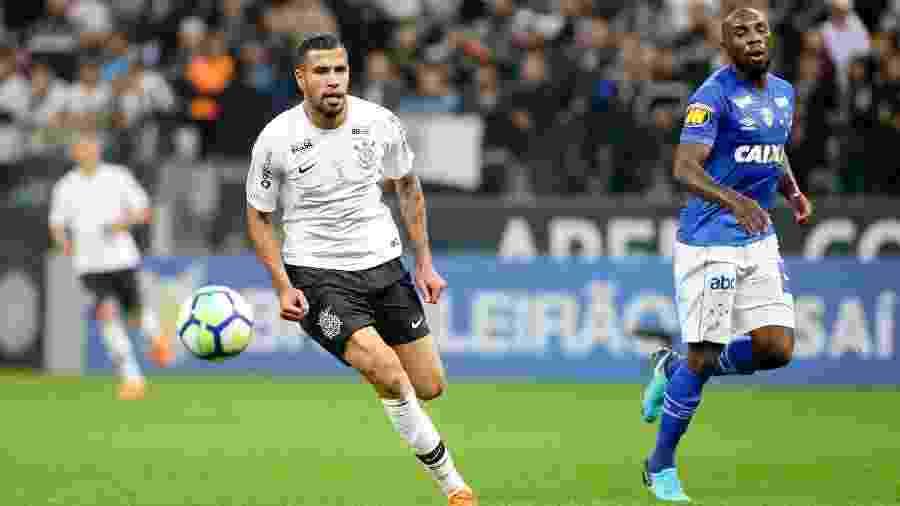 Jonathas vestiu a camisa alvinegra em 2018 e marcou apenas um gol - Rodrigo Coca/Ag. Corinthians
