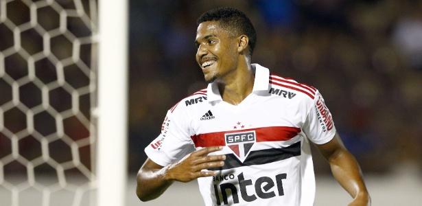Centroavante é o maior goleador desta edição da Copinha com nove tentos - Thiago Calil/AGIF