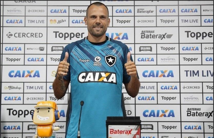Diego Cavalieri foi apresentado pelo Botafogo nesta sexta-feira (4)