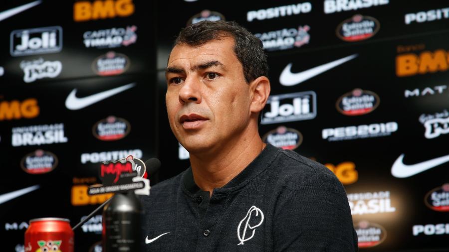 Treinador quer pressionar o Grêmio no sábado e espera que Jadson cresça junto com o time - LUIS MOURA/WPP/ESTADÃO CONTEÚDO