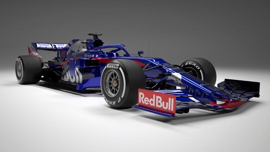 Toro Rosso terá pelo segundo ano motores Honda nesta temporada - Divulgação