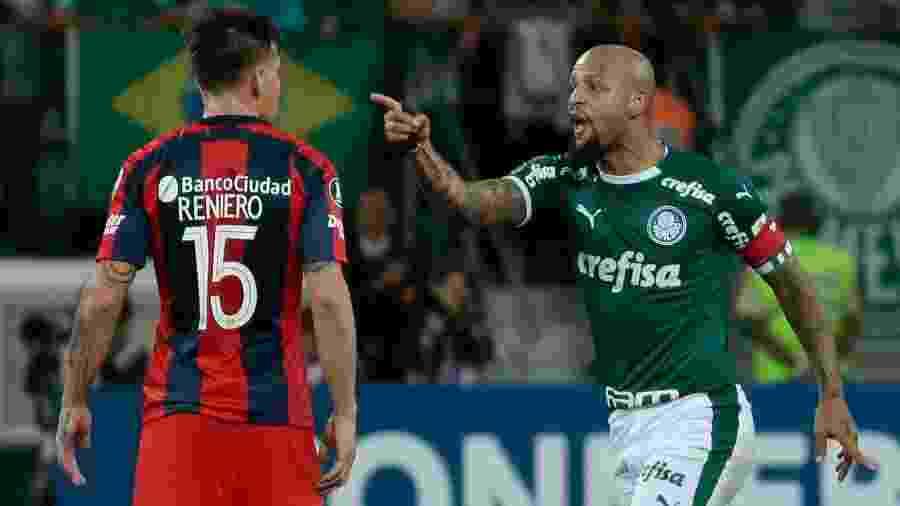 Palmeiras é um dos brasileiros que entram em campo já nesta terça-feira - Marcello Zambrana/AGIF