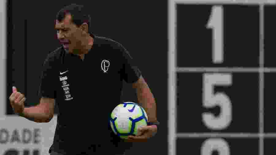 Fábio Carille chega à parada da Copa América com desafio de encerrar altos e baixos do Corinthians -  Daniel Augusto Jr/Ag. Corinthians