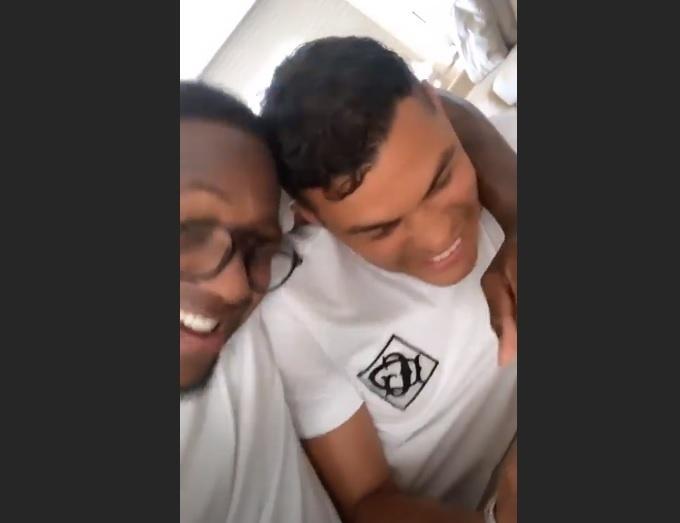 Mumuzinho e Thiago Silva
