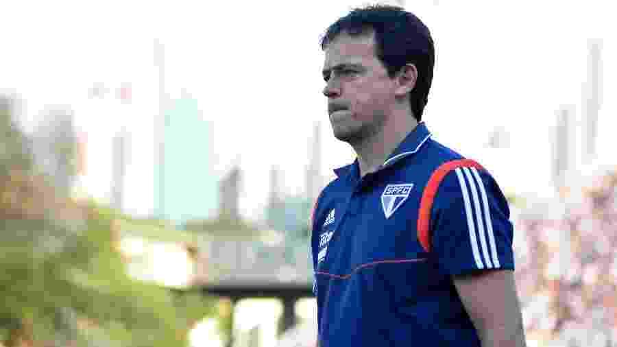 Técnico Fernando Diniz comanda São Paulo - Bruno Ulivieri/AGIF