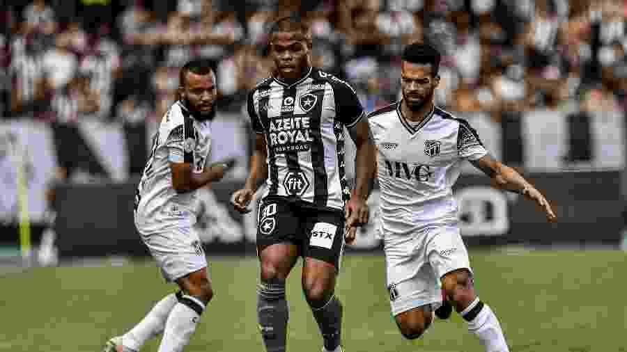 Ceará garantiu a permanência na Série A do Brasileirão em 2020 com empate diante do Botafogo - NAYRA HALM/FOTOARENA/ESTADÃO CONTEÚDO