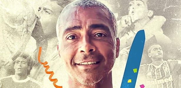 Romário completa 54 anos: