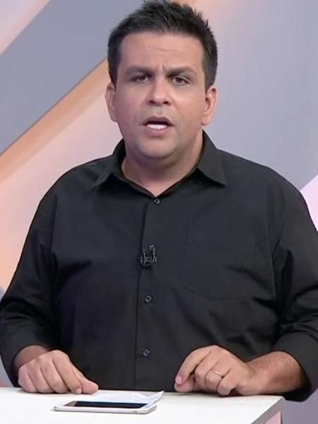 Daniel Pereira, narrador do SporTV - Reprodução